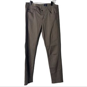 AG The Stevie Ankle Slim Straight Jeans Brown 28R